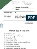 Fin118 Unit 2