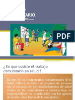 1. Trabajo Comunitario, Obj, Caracter,Fortalezas, Debilidades