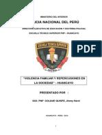 MONOGRAFIA de VIOLENCIA FAMILIAR Planteamiento de Problema Fianl Informe Huancayo