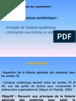 Chapitre 3_analyse Systémique Des Organisations