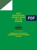 Punjab Development Statistics 2012