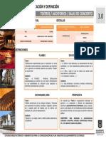 Estandares Arquitectonicos y Tecnicos Equipamientos Culturales AUDITORIOS