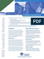 Ending Employment