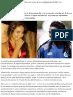 Insultos Racistas en Redes Sociales No Configuran Delito de Discriminación — La Ley - El Ángulo Lega