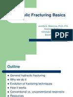 Hydraulic Fracturing Basics