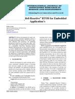 IJIRSM Pallavi Joshi Time Embedded Reactive RTOS for Embedded Applications