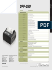 DPP 350 Specification Guide