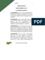 Ley de Municipalidades y Su Reglamento