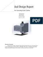 detailed design report