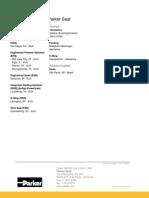 Parker - Catalogo de Adesivos e Selantes