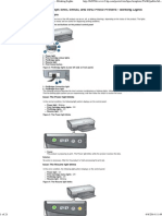 HP Deskjet 5940, 5940xi, And 5943 Photo Printers - Blinking Lights