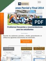 Tips Evaluación Estudiantes - 2014
