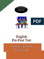 1rst Grade Pre-post Test[1]
