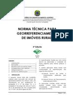 3 Edicao Norma Tecnica Georreferenciamento Imoveis Rurais