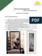 Descriere Atelier de Cultura Japoneza
