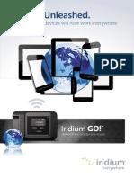 Irdm Iridium go Brochure Single page