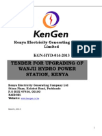 Kgn-hyd-014-2013tender for Upgrading of Wanjii Hydro Power Station - Kenya - Elecro Mechanical (2)