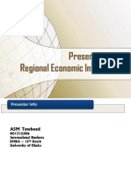 Regional Economic Integration - Term Paper Presentation