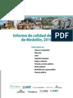 Medellin Como Vamos Indicadores de Contexto