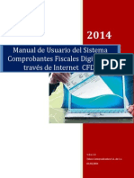Manual de Usuario Del Sistema de Comprobantes Fiscales Digitales a Traves de Internet 2014