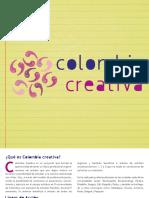 Plegable Colombia Creativa - Descargar