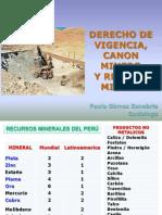 Canon Minero 2014