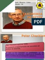 Presentacion taxonomia checkland