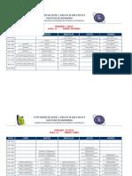 Horario Ing. Sistemas 2014 - i