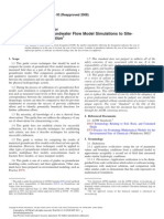 D5490 - 93 Standard Guide for Comparing Groundwater Flow Model Simulations to Site - Specific Information.pdf