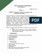NET EXAM Paper 1