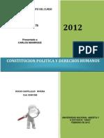Reconocimiento de Constitucion Politica y Derechos Humanos