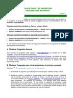 Guia Inscripcion Posgrados y Pago en Linea