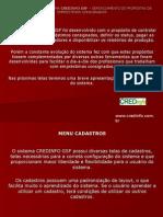 Apresentação do Sistema CREDINFO GSF