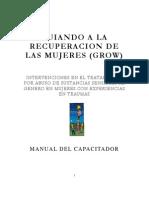 Grow Trauma Trainer Manual - Spanish