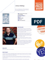 Teenage Prize Reading Guide - Patrick Ness