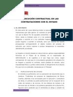 La Ejecución Contractual en Las Contrataciones Con El Estado.- Actividad Vii
