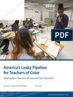 America's Leaky Pipeline for Teachers of Color