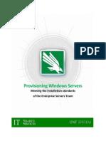 provisioning servers