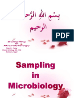 Microbiologic Sampling