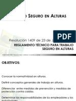 Trabajo Seguro en Alturas y Legislación - Mauricio Mejía