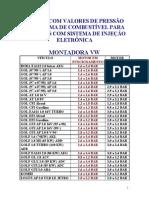115497388 Tabela de Pressao de Bombas de Combustivel Automotiva