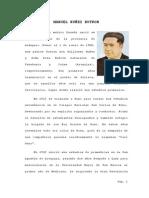 Biografia Manuel Nuñez Butron