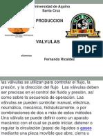 VALVULAS PRODUCCION