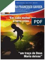 Informativo paroquial SF Xavier Fabriciano / MAI 2014