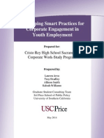 Allison Smith- Developing Smart Practices for Corporate Engagement in Youth Employment