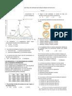 Evaluacion Final de Ciencias Naturales Grado Octavo 2013