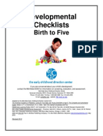 Development.l Checklists Updated2012