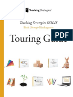 Teaching Strategies GOLD Assessment Touring Guide WEB