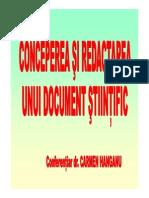 153534725 Conceperea Si Redactarea Unui Document Stiintific PDF