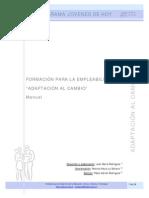 Manual Capacitador - Adaptacion Al Cambio
